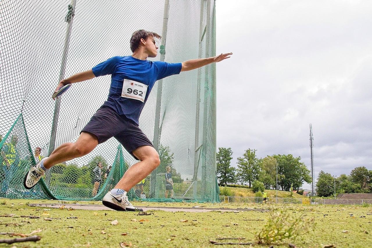 achilles-top kerkrade atletiek discuswerpen discus